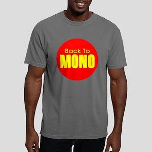 backtomono_yellow Mens Comfort Colors Shirt