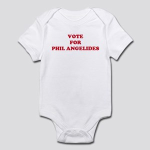 VOTE FOR PHIL ANGELIDES Infant Bodysuit