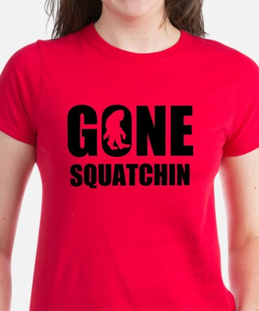 Gone Squatchin Women's Dark T-Shirt