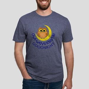 OWLWAYS KISS ME Mens Tri-blend T-Shirt
