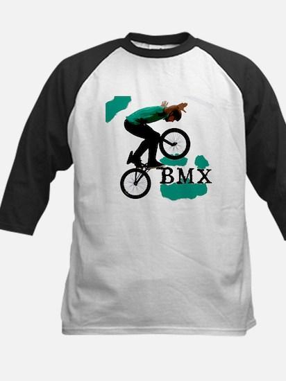 BMX ink blot Kids Baseball Jersey