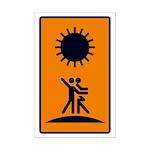 Tarot Sun Mini Poster Print