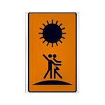 Tarot Sun Rectangle Magnet