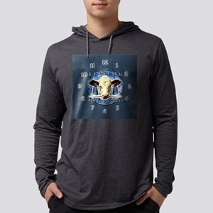 Wall Clock - More Cowbell Mens Hooded Shirt