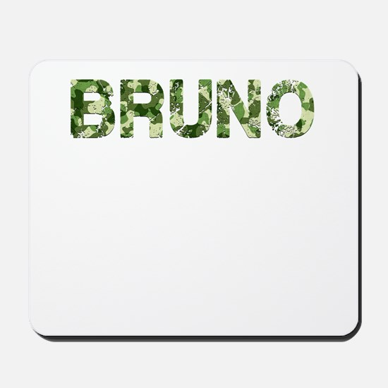 Bruno, Vintage Camo, Mousepad