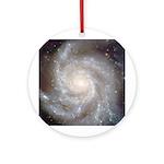 M101 Pinwheel Galaxy Ornament (Round)