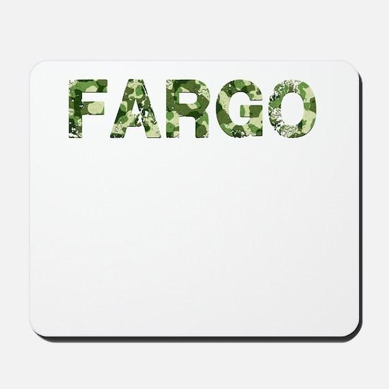Fargo, Vintage Camo, Mousepad