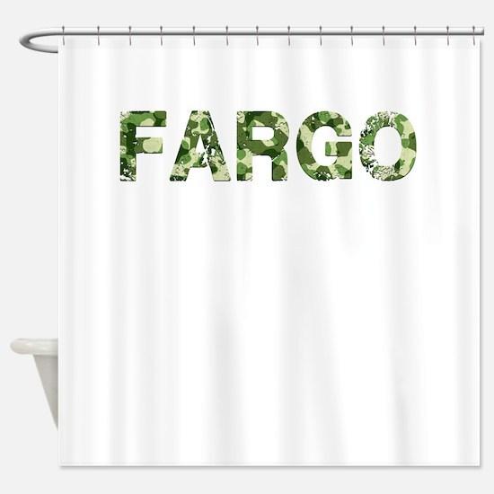 Fargo, Vintage Camo, Shower Curtain