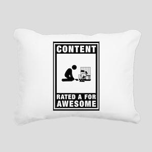 Hamster Lover Rectangular Canvas Pillow