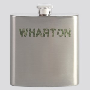 Wharton, Vintage Camo, Flask