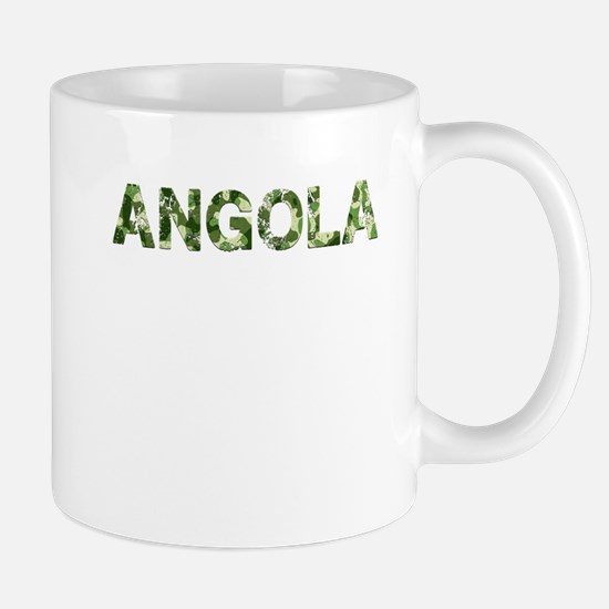 Angola, Vintage Camo, Mug