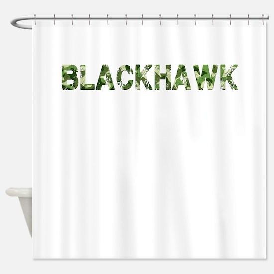Blackhawk, Vintage Camo, Shower Curtain