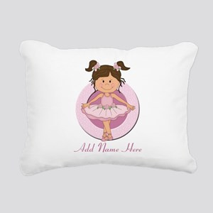 personalizedballet Rectangular Canvas Pillow
