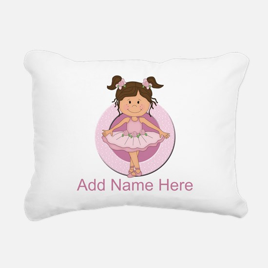 personalizedballet Rectangular Canvas Pillow