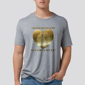 goldenrule Mens Tri-blend T-Shirt