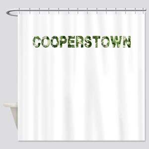 Cooperstown, Vintage Camo, Shower Curtain