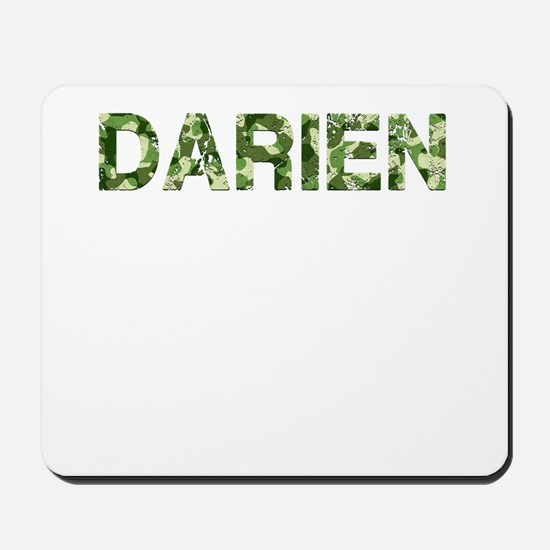Darien, Vintage Camo, Mousepad