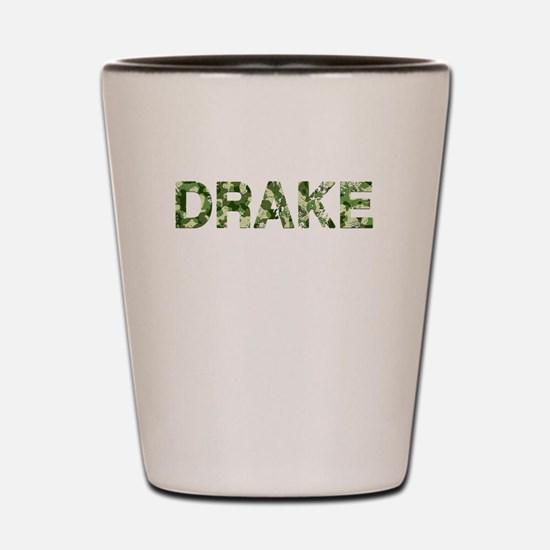 Drake, Vintage Camo, Shot Glass