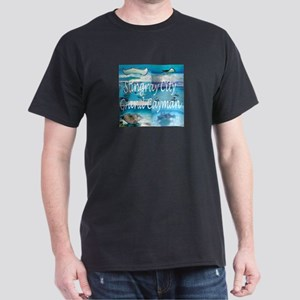 Scuba Stingray City Grand Cayman Dark T-Shirt