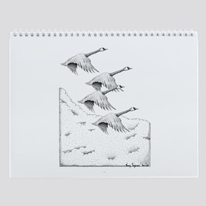 Geese Wall Calendar 13 Pen and Inks