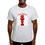 Foos Baller Ash Grey T-Shirt