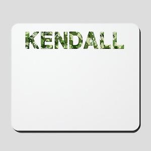Kendall, Vintage Camo, Mousepad