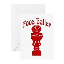 Foos Baller Greeting Cards (Pk of 10)