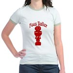 Foos Baller Jr. Ringer T-Shirt
