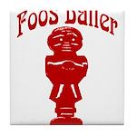 Foos Baller Tile Coaster