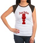 Foos Baller Women's Cap Sleeve T-Shirt