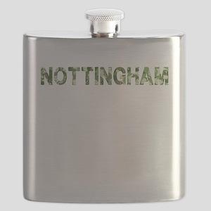Nottingham, Vintage Camo, Flask