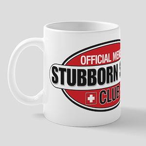 Stubborn Swiss Club Mug