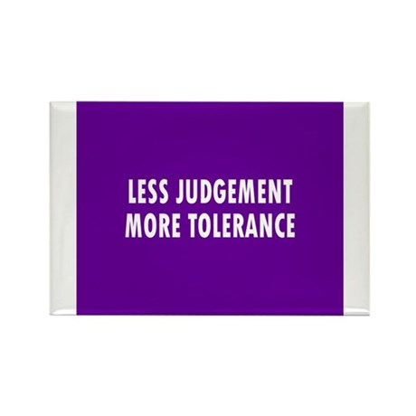 BUTTON less judgement Magnets
