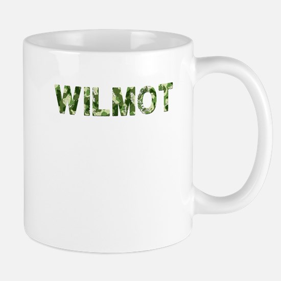 Wilmot, Vintage Camo, Mug