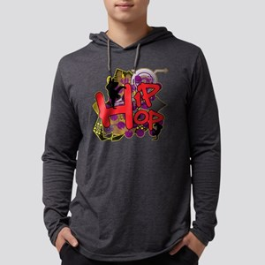 HIP HOP YO Mens Hooded Shirt