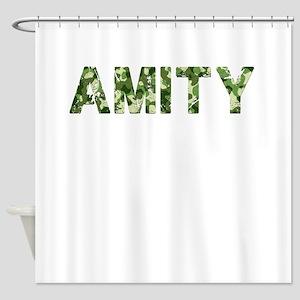 Amity, Vintage Camo, Shower Curtain