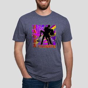 SALSA CALIENTE! Mens Tri-blend T-Shirt