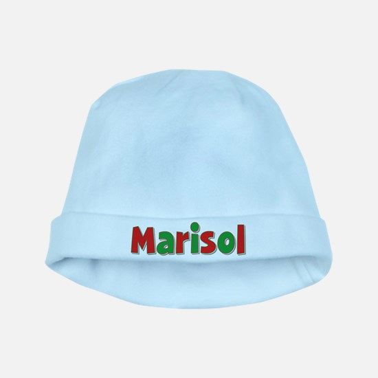 Marisol Christmas baby hat