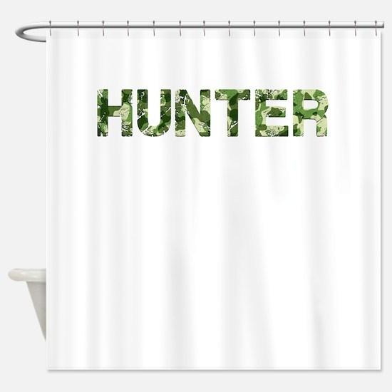 Hunter, Vintage Camo, Shower Curtain