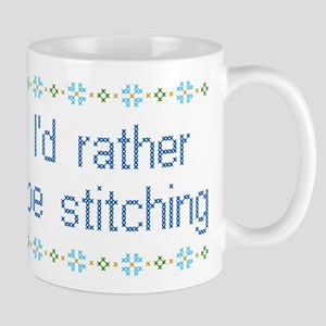 I'd Rather Be Stitching Mug