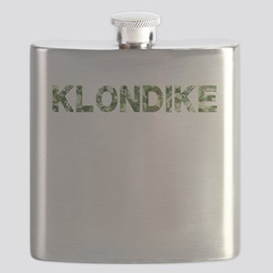 Klondike, Vintage Camo, Flask