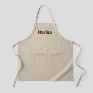 Marina Christmas Apron