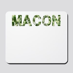 Macon, Vintage Camo, Mousepad