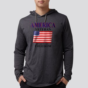 veteran Mens Hooded Shirt