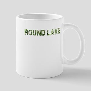 Round Lake, Vintage Camo, Mug