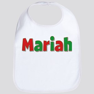 Mariah Christmas Bib