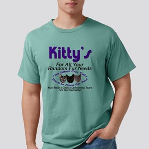 kitty Mens Comfort Colors Shirt
