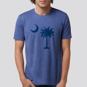 PALMETTO TREE Mens Tri-blend T-Shirt