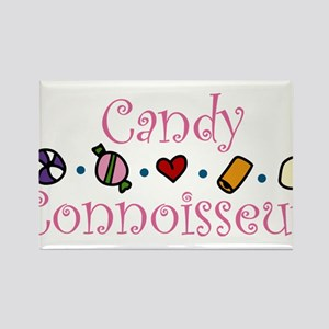 Candy Connoisseur Rectangle Magnet