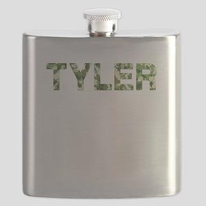 Tyler, Vintage Camo, Flask